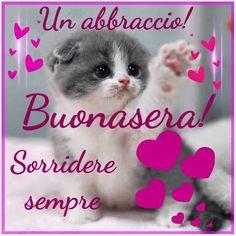 Un abbraccio! Buonasera! #frasi