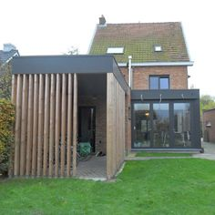 Just in case Pergola, Garden Solutions, Bike Shed, Garden Architecture, House Extensions, Yard Design, Outdoor Landscaping, Garden Inspiration, Old Houses
