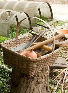 Colonial Gardening Tools  by Vanessa Goodrich
