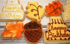 Birthday Cookies #pamperspinparty