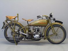 Harley Davidson 1926 26B 350cc 1 cyl sv