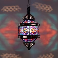 Oriental Lantern Lamp Moroccan Ceiling Light Hanging Lamp Titia_Zwak_K