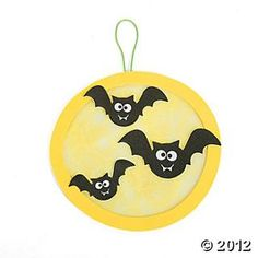 Moon & Bats Acetate Craft Kit, Decoration Crafts, Crafts for Kids, Craft & Hobby Supplies - Oriental Trading