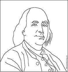 1000 images about benjamin franklin on pinterest for Benjamin franklin coloring pages