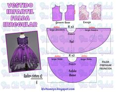Take a look at this neat photo - what a creative style and African Dress Patterns, Baby Dress Patterns, Barbie Patterns, Kids Patterns, Doll Clothes Patterns, Pdf Sewing Patterns, Sewing Clothes, Clothing Patterns, Sewing For Kids