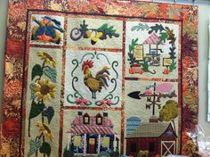Life on the farm quilt