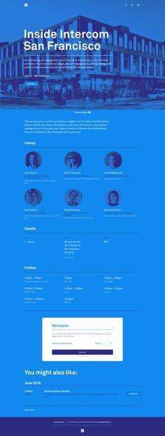 Inside Intercom San Francisco designed by Frantisek Kusovsky for Intercom. Connect with them on Dribbble; Web Ui Design, Graphic Design, Website Design Inspiration, Design Ideas, San Francisco Design, Great Websites, Modern Website, Newsletter Design, User Interface Design