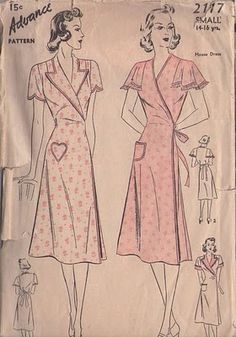 Gertie's New Blog for Better Sewing: The House Dress: a Humble History