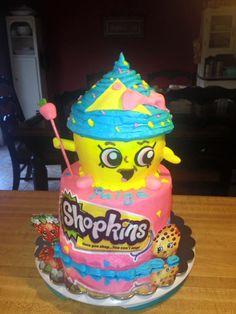 Shopkins cake by me, Tina~  @ Save Room For Cake!