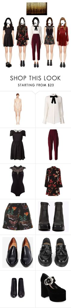 """""""Serenity 'Hide-And-Seek' Debut Stage"""" by labyrinthe-entertainment ❤ liked on Polyvore featuring STELLA McCARTNEY, Alexander McQueen, Yves Saint Laurent, Topshop, Jeffrey Campbell, YMC, Stella Luna and Miu Miu"""