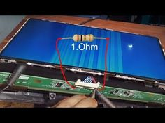 How To Repair LED LCD TV Panel '' By White Color picture 100% Solution এলিডি প্যানেল মেরামত বাংলাদেশ - YouTube Electronic Circuit Design, Electronic Engineering, Sony Led Tv, Lcd Television, Tv Panel, Led Board, Electronic Schematics, Lg Tvs, Tv Display