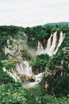 "wonda-rondo: "" woodfawn: "" expressions-of-nature: "" by ijpaige Plitvice Lakes National Park, Croatia "" x "" "" Places Around The World, Oh The Places You'll Go, Places To Travel, Places To Visit, Around The Worlds, Travel Destinations, Vacation Travel, Bósnia E Herzegovina, Nature Photography"