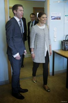 "Crown Princess Victoria and Prince Daniel visited ""Swedish for Immigrant"" school in Tensta"