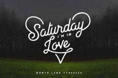 North Land Typeface - Font Bundle by pratamaydh on @creativemarket