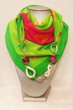 Riciclo creativo dei foulard (Foto 19/41) | PourFemme