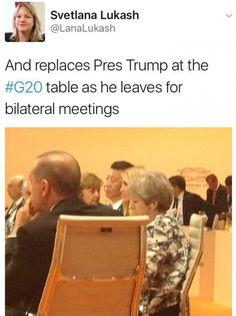 Só piora: Ivanka Trump toma o lugar do pai durante reunião do G20