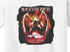 Premium Black Veil Brides Andy Angel Girls T-Shirt
