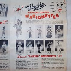 """My first 1953 Hazelle's product """"catalog"""" arrived today. This is the front cover."""