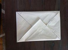 Den perfekte måten å brette serviettene på? I alle fall til konfirmasjonsbordet! - Kreative Idéer