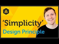 'Simplicity' Design principle of Graphic Design Ep15/45 [Beginners guide to Graphic Design] - YouTube