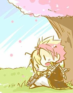 Lucy and Natsu - Fairy Tail.