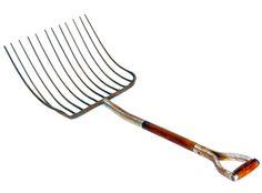 Vintage 12 Tine Hay / Pitch Fork by MerlesVintage