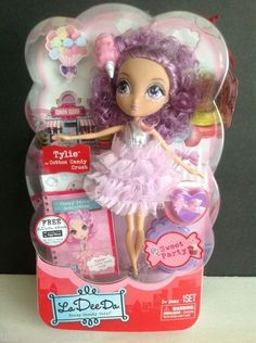 LA DEE DA Sweet Party Doll TYLIE as Cotton Candy Crush Spin Master LTD