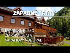 Chata, Cabin, House Styles, Youtube, Outdoor, Home, Decor, Outdoors, Decoration