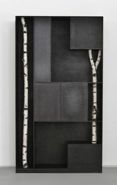 Andrea Branzi | Tree 9, 2010 Patinated aluminum | 252 x 140 x 35 cm | Edition of 12