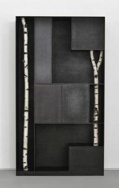 Andrea Branzi | Tree 9, 2010 Patinated aluminum | 252 x 140 x 35cm | Edition of 12