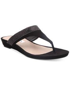 Nina Micayla Slide-On Evening Sandals | macys.com