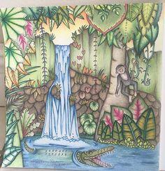 Magical Jungle #johannabasford #magicaljunglecoloringbook #robzlipner…