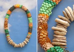 GROWING - Necklace perler beads by Christy Curcuru