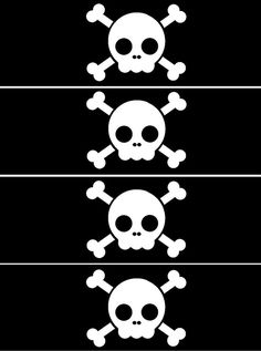 Free Printable Pirate Eye Patch Template