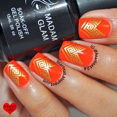 heartnat: Madam Glam Gel Polish--Review