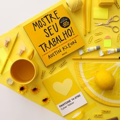 Pantone, Yellow Cups, Flat Lay Photos, Cup Art, Black Coffee, Book Photography, Bookstagram, Photoshoot, Instagram