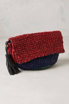 at anthropologie Paga Tassel Pouch