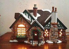 Dept. 56 Tudor House American Architecture Series Snow Village Christmas