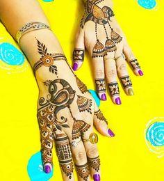 Mehndi Designs Front Hand, Peacock Mehndi Designs, Latest Bridal Mehndi Designs, Mehndi Designs 2018, Henna Art Designs, Mehndi Designs For Fingers, Dulhan Mehndi Designs, Mehandi Designs, Heena Design