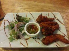 Marinated wings - A: 3 B: Green Peppercorn, Wings, Meat, Chicken, Food, Essen, Meals, Feathers, Feather