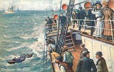 Raphael Tuck & Sons postcards.