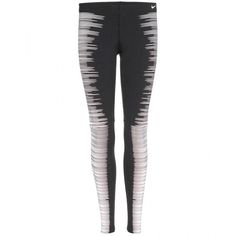 sports shoes 665c1 3b8f2 Nike Printed Reflective Leggings (£100) ❤ liked on Polyvore featuring  pants, leggings