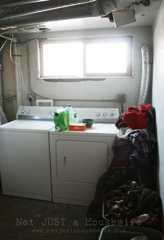 laundry room before 700x1024 Laundry Room Update + $500 Home Depot Gift Card GIVEAWAY!!!
