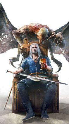 The witcher wild hunt, warrior, game, wallpaper The Witcher 3, The Witcher Wild Hunt, The Witcher Books, Witcher Art, Witcher 3 Geralt, Hisoka, Killua, Dark Fantasy Art, Witcher Wallpaper