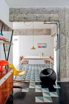 Un lieu purement informel à Sao Paulo. – Miluccia | Magazine d'inspiration décoration et design