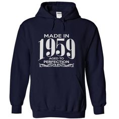 e056872fc Best reviews MADE IN 1959 AGED TO PERFECTION T-shirt - Cheap T-shirt