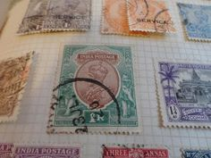 Old/Rare Stamps From India