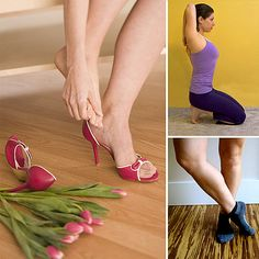 How to Stretch Your Feet if You Wear High Heels or run