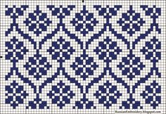 Nice to be done in double knitting Tapestry Crochet Patterns, Fair Isle Knitting Patterns, Knitting Charts, Weaving Patterns, Knitting Designs, Knitting Stitches, Sock Knitting, Knitting Tutorials, Vintage Knitting