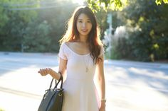 ally gong palo alto college ucla fashion blogger bay area ootd fashionista asian pretty suburbs wavy hair pink dress cute grass sky sun happy bittersweet nostalgia september  ally gong, asian girl, ulzzang, korean fashion, asian hairstyle, kawaii, japanese style, kfashion, korean style, kstyle, asian american, asian model, asian fashion blogger, asian youtuber, asian outfit, makeup, beauty, hair, asian makeup, girly, chic, classy, outfit ideas, outfit inspiration,